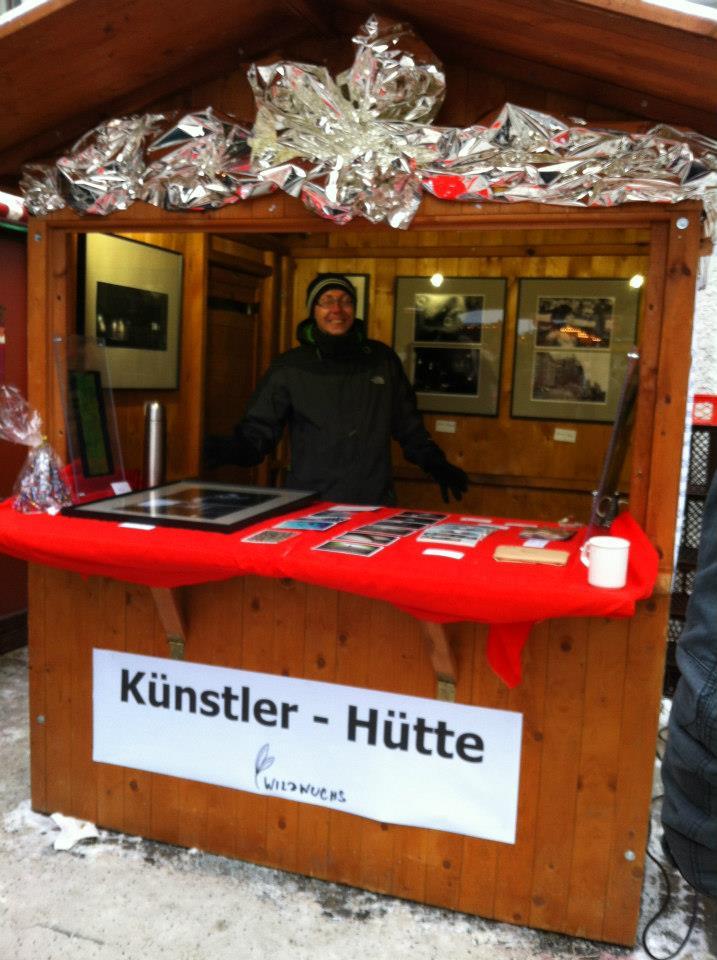Künstlerhütte auf dem Görlitzer Christkindelmarkt 2012