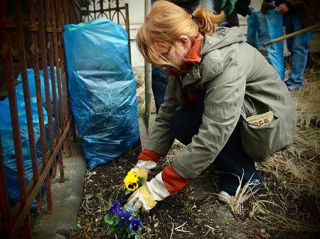 Gartenaktion 13.4.2013